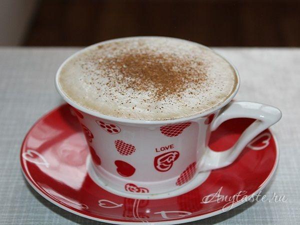 Капучино в домашних условиях с кофемашиной 773