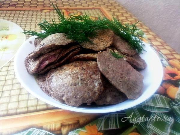 Оладьи из куриной печени рецепт с фото пошаговый Едим Дома 23