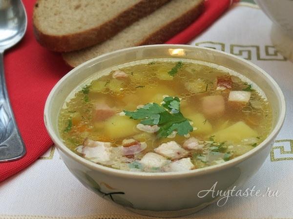 какой суп сварить из копченых ребрышек не гороховый
