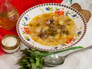 Рецепты мясных супов с пошаговым фото