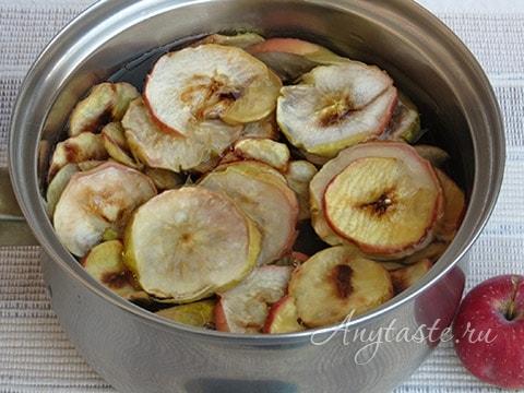 Компот из сухофруктов яблок как варить рецепт 107
