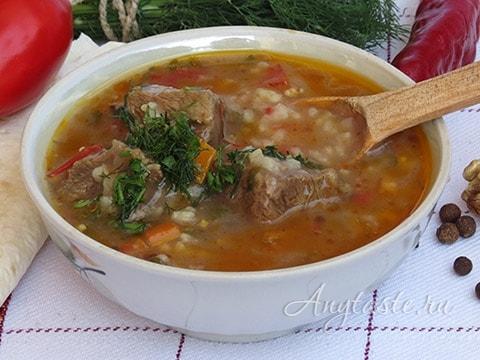 Харчо рецепт по-грузински с фото пошагово
