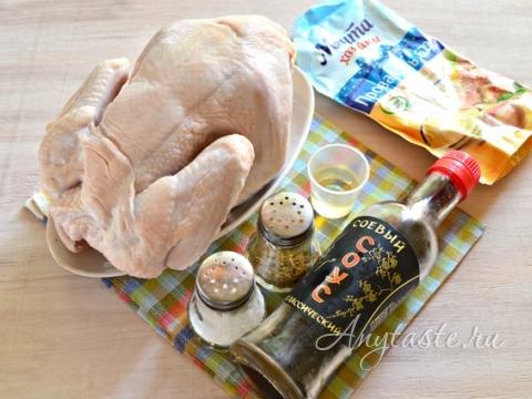 Как зажарить курицу с хрустящей золотистой корочкой в духовке