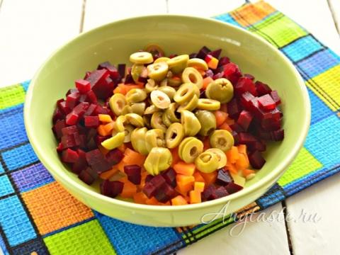 Винегрет с оливками рецепты